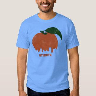 Retro Atlanta Skyline-Men T-shirt