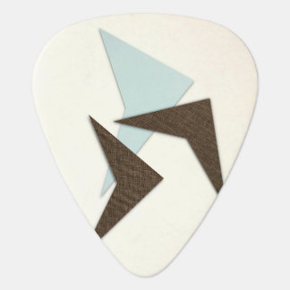 Retro Atomic Boomerang Plectrum