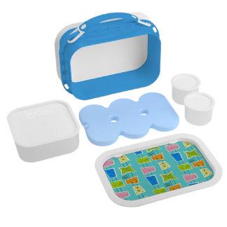 Retro Atomic Kitsch Lunch Box