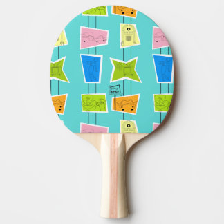 Retro Atomic Kitsch Ping Pong Paddle