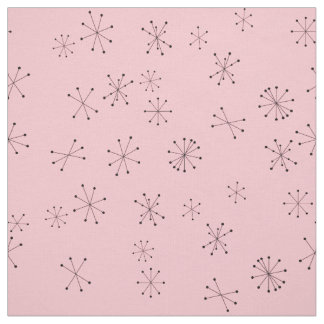 Retro Atoms Fabric