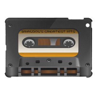Retro Audio Cassette Tape Custom iPad Mini Case