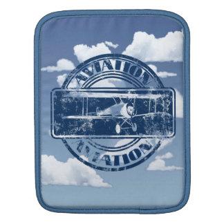 Retro Aviation Art iPad Sleeves