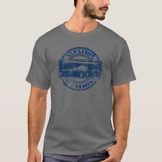 Retro Aviation Art T-Shirt