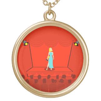 Retro Award Show Necklace