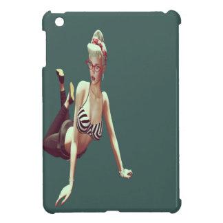 Retro  babe iPad mini cover