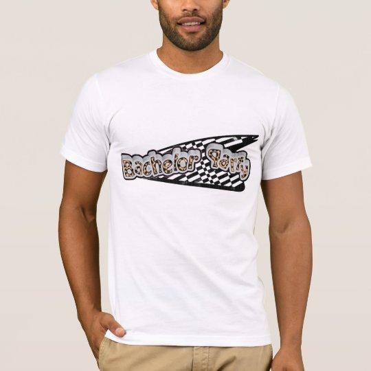 Retro Bachelor Party T-Shirt