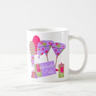 Retro Bachelorette Party Coffee Mug