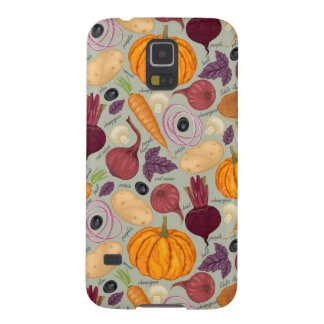 Retro background from fresh vegetables galaxy s5 cover