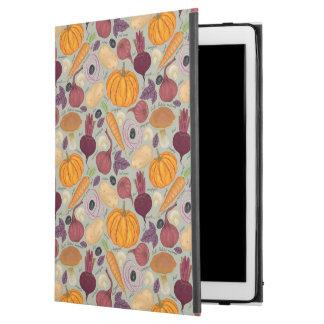 "Retro background from fresh vegetables iPad pro 12.9"" case"