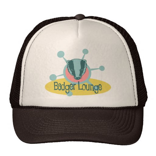 Retro Badger Lounge Hats