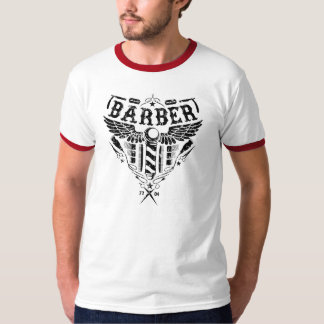 retro barber tee
