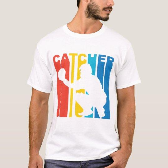 Retro Baseball Catcher T-Shirt