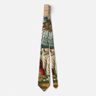 Retro Baseball Game Ad 1885 b crop Tie