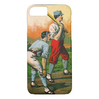Retro Baseball Game Ad 1885 c iPhone 8/7 Case