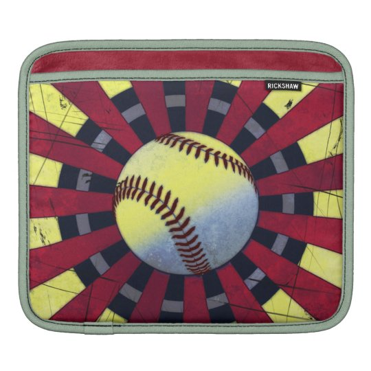 Retro Baseball iPad Sleeve