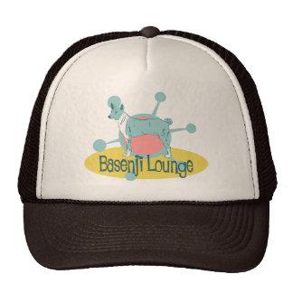 Retro Basenji Lounge Cap