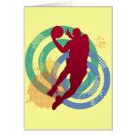 Retro Basketball Player Card