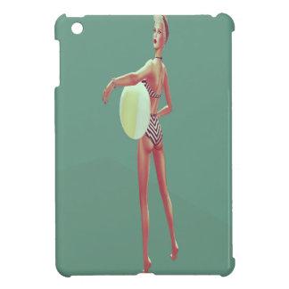 Retro Beach babe iPad Mini Cases