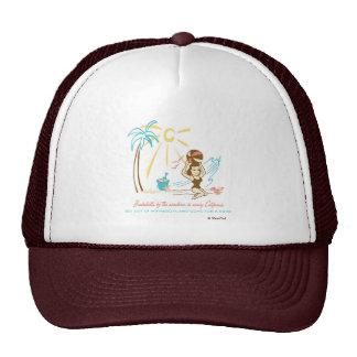 Retro 'Beach Bombshell' Mesh Hats