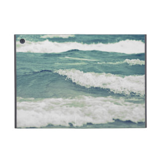 Retro Beautiful Lake Michigan Beach Surf Waves iPad Mini Cover