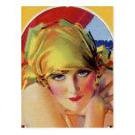 Retro Beauty Post Cards