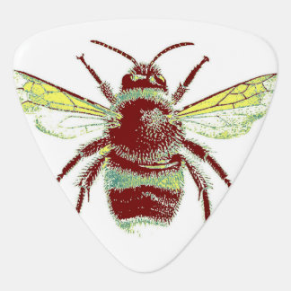 Retro Bee Guitar Pick