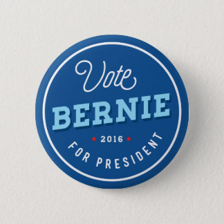 Retro Bernie 6 Cm Round Badge