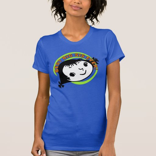 Retro Best Big Sister Ever T Shirt