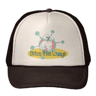 Retro Bichon Frise Lounge Cap