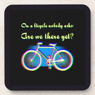 Retro Bicycle Coasters