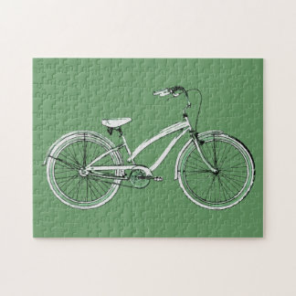 retro bicycle jigsaw puzzle