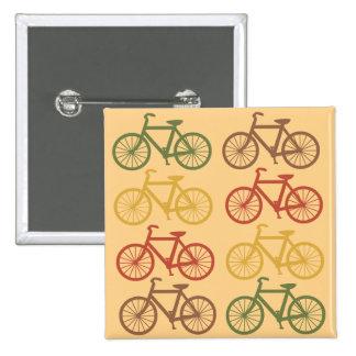 Retro Bicycles 15 Cm Square Badge