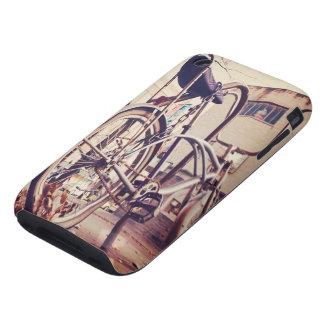 Retro bike iPhone 3 tough case