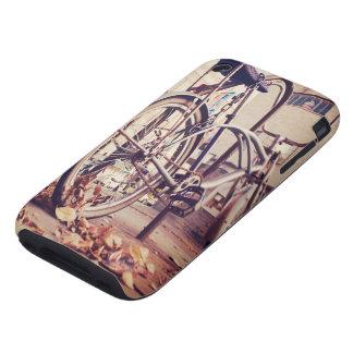 Retro bike iPhone 3 tough cases