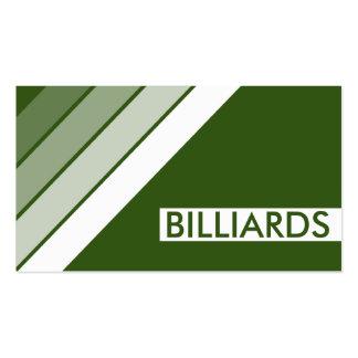 retro BILLIARDS Business Card
