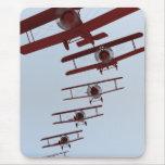 Retro Biplane Mouse Mat