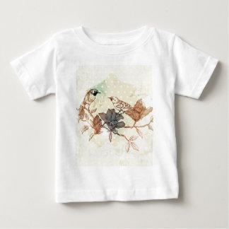 Retro Birds Baby T-Shirt