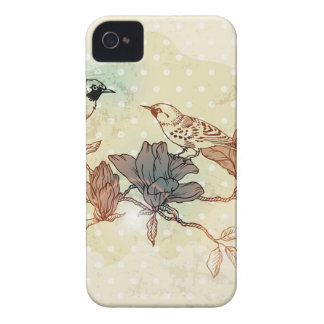 Retro Birds Case-Mate iPhone 4 Case
