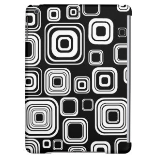 Retro black and white squares
