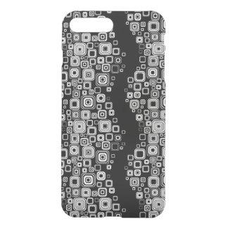 Retro black and white squares iPhone 8 plus/7 plus case