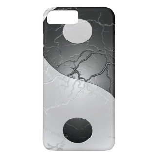 Retro Black and White Yin and Yang iPhone 7 Plus Case