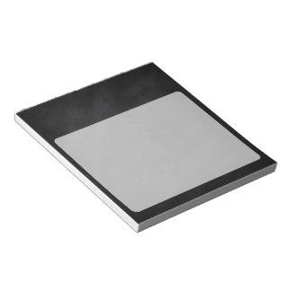 Retro Black Chalkboard Texture Notepads