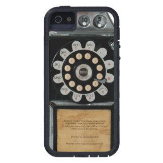 retro black pay phone case tough xtreme iPhone 5 case
