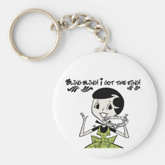 Retro Bling Ring Tshirts and Gifts Key Chain