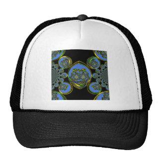 Retro blue cap