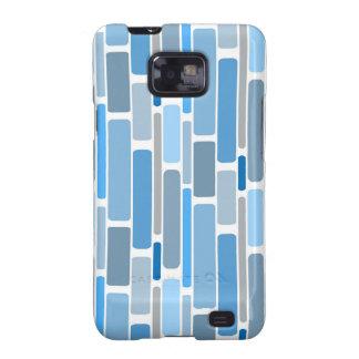 retro blue galaxy SII cover