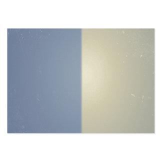Retro Blue Cream Bicolor Pattern Business Card Templates