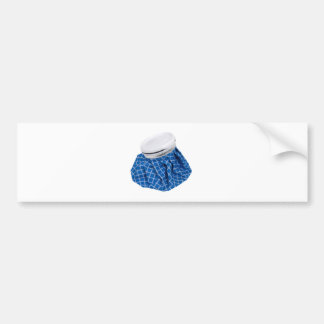 Retro Blue Ice Pack Bumper Stickers