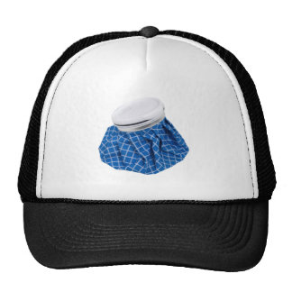 Retro Blue Ice Pack Cap